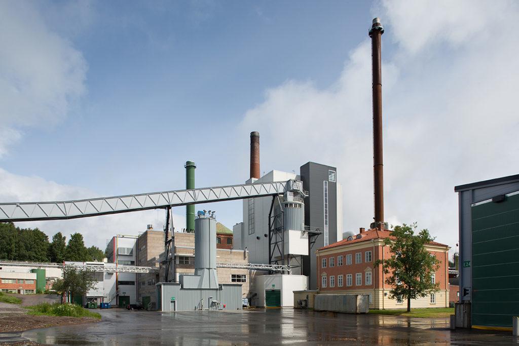 Pohjolan Voima Oy. Hämeenkyrön biovoimalaitos