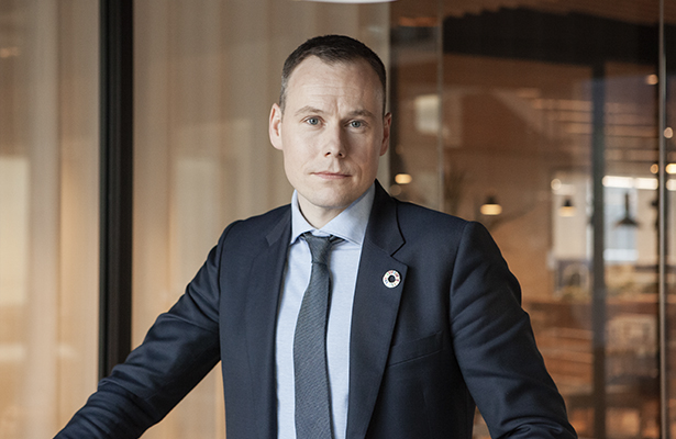 Kemiran yritysvastuujohtaja Rasmus Valanko