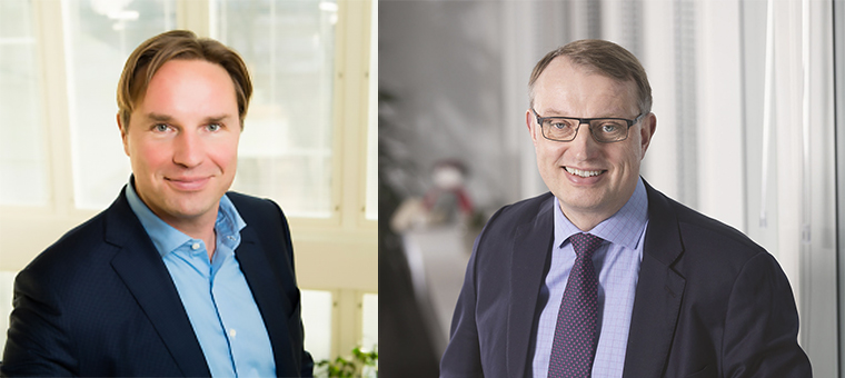 Ahti Fagerblom ja Jukka Leskela
