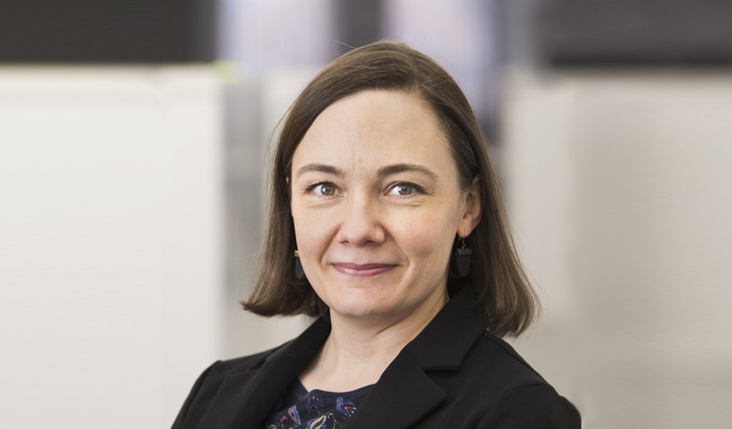 Katja Permanto on Pohjolan Voiman ympäristö- ja turvallisuusasiantuntija